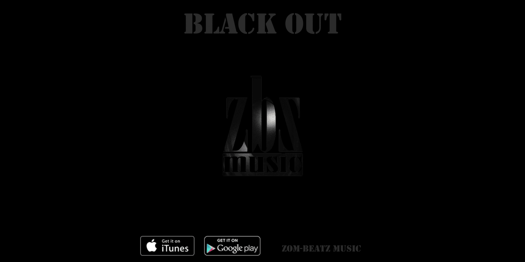 Blackout EP Cover